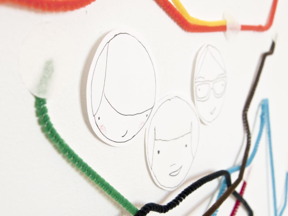 New York Subway Map Faces