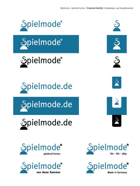 Spielmode-Logo-Varianten