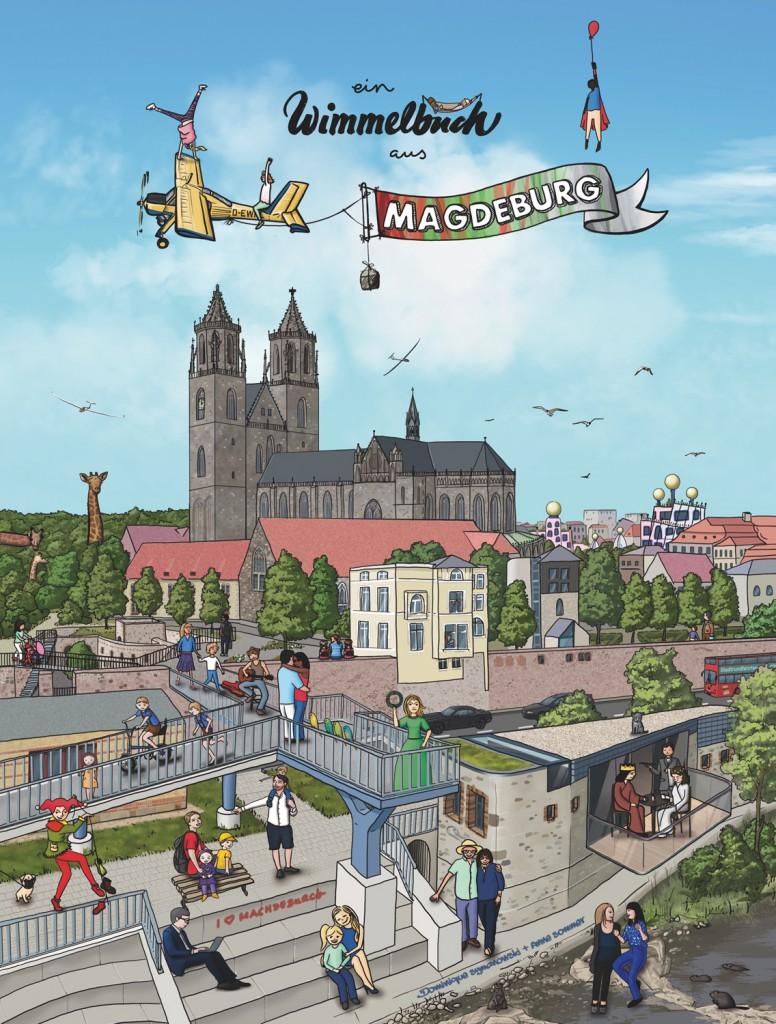 Wimmelbuch_aus_Magdeburg_Cover